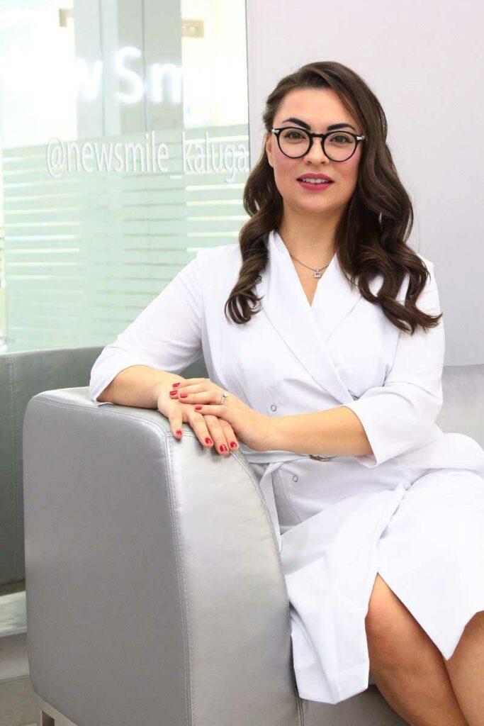 Екатерина Прик - главный врач newsmile-kaluga